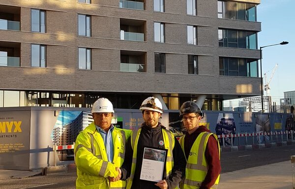 Photo credit, from left to right: Anthony Davies (Senior Site Manager), Jason Hadad, Michael Boyle (Site Managers)